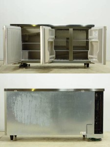 ホシザキ 業務用 台下 冷凍冷蔵庫 RFT-150PTC -3